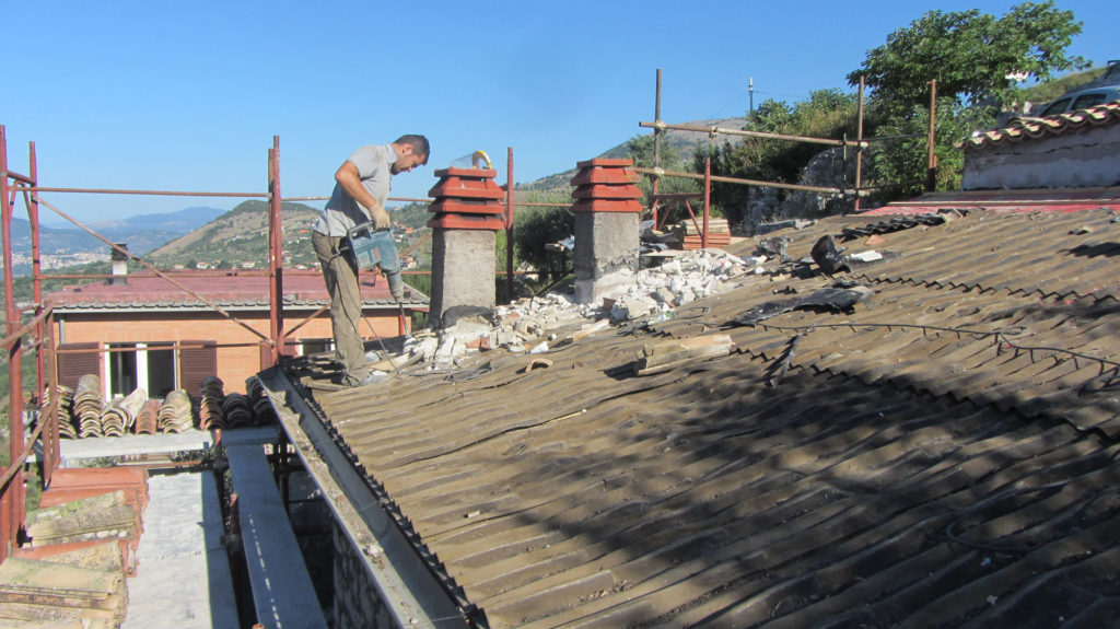 Takarbeidet på Casa di Veroli er ferdig