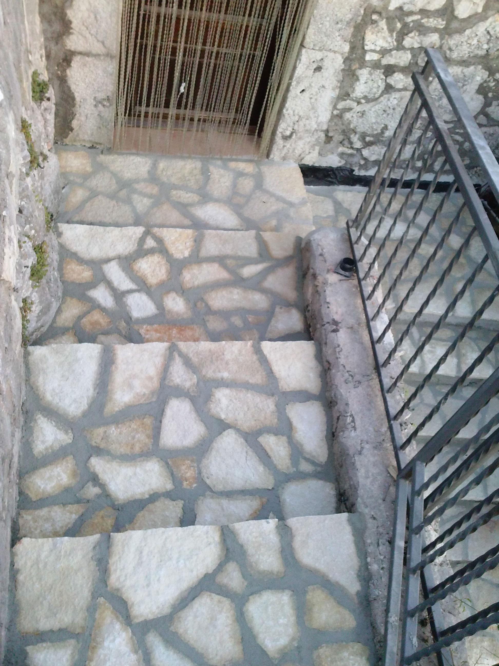 Nyrestaurert trapp