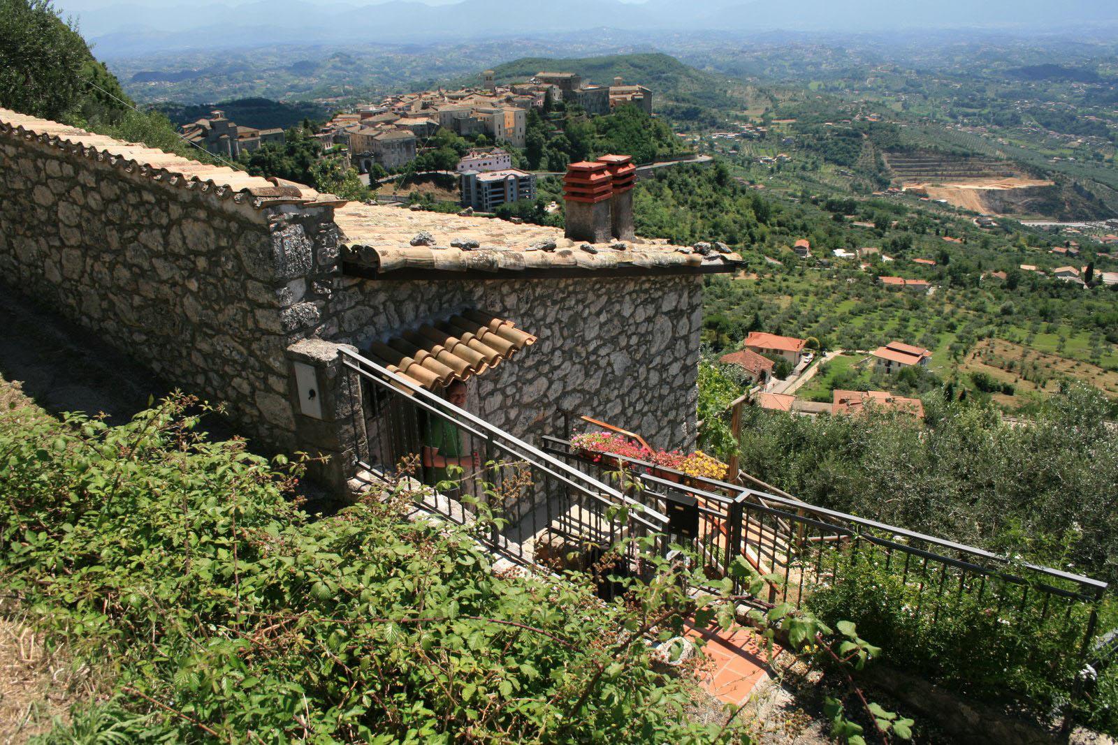 Casa di Veroli ligger øverst i Veroli