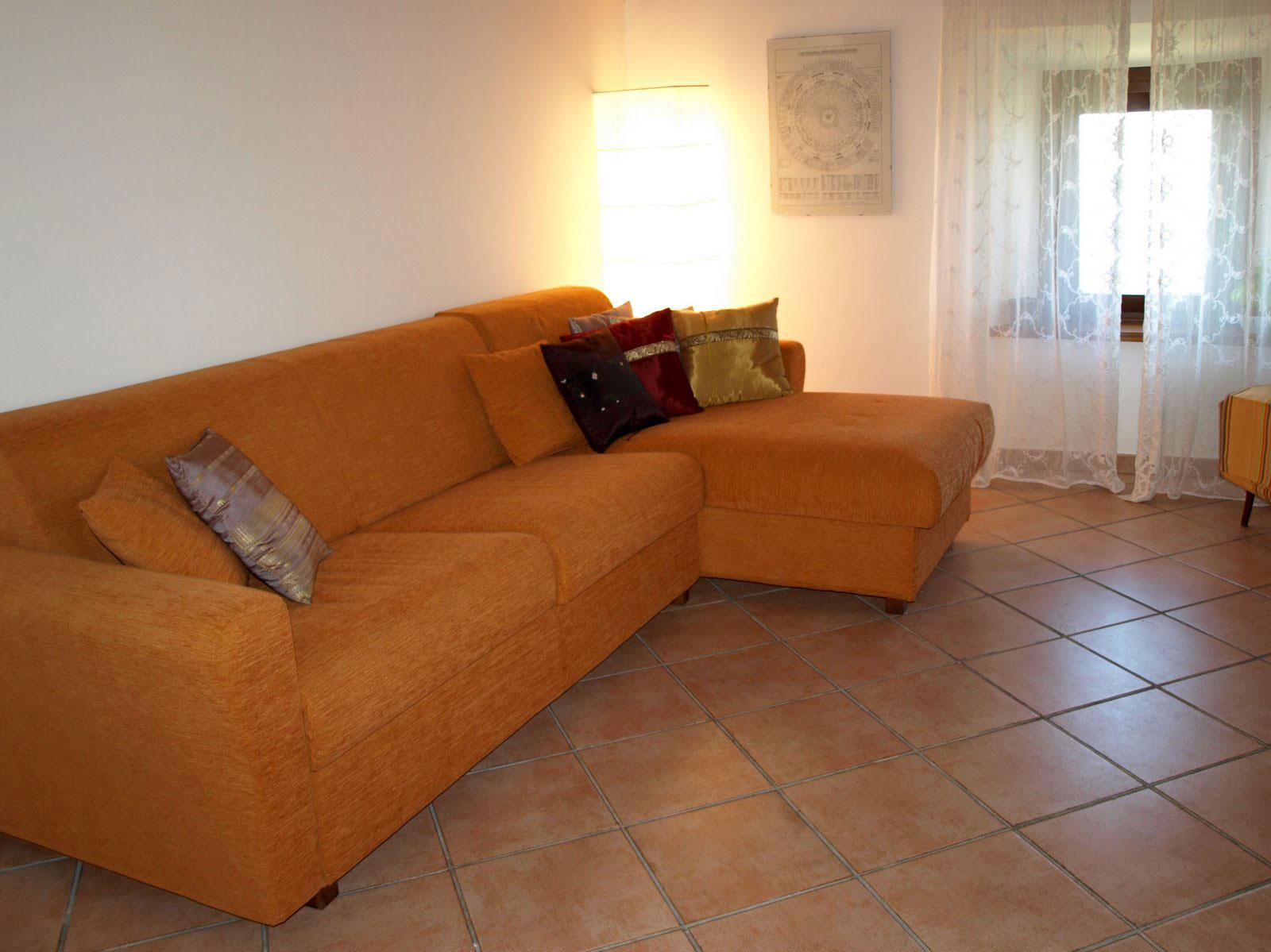 Komfortabel og sval stue