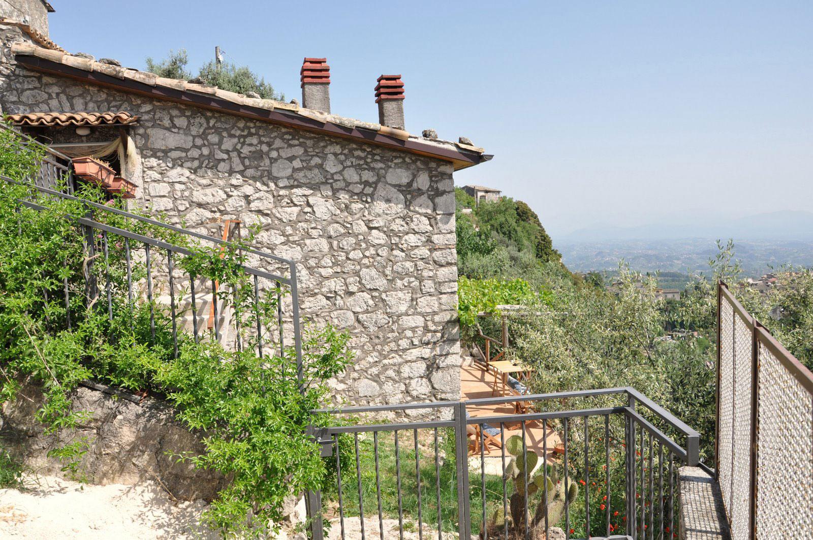 Helt øverst ligger Casa di Veroli