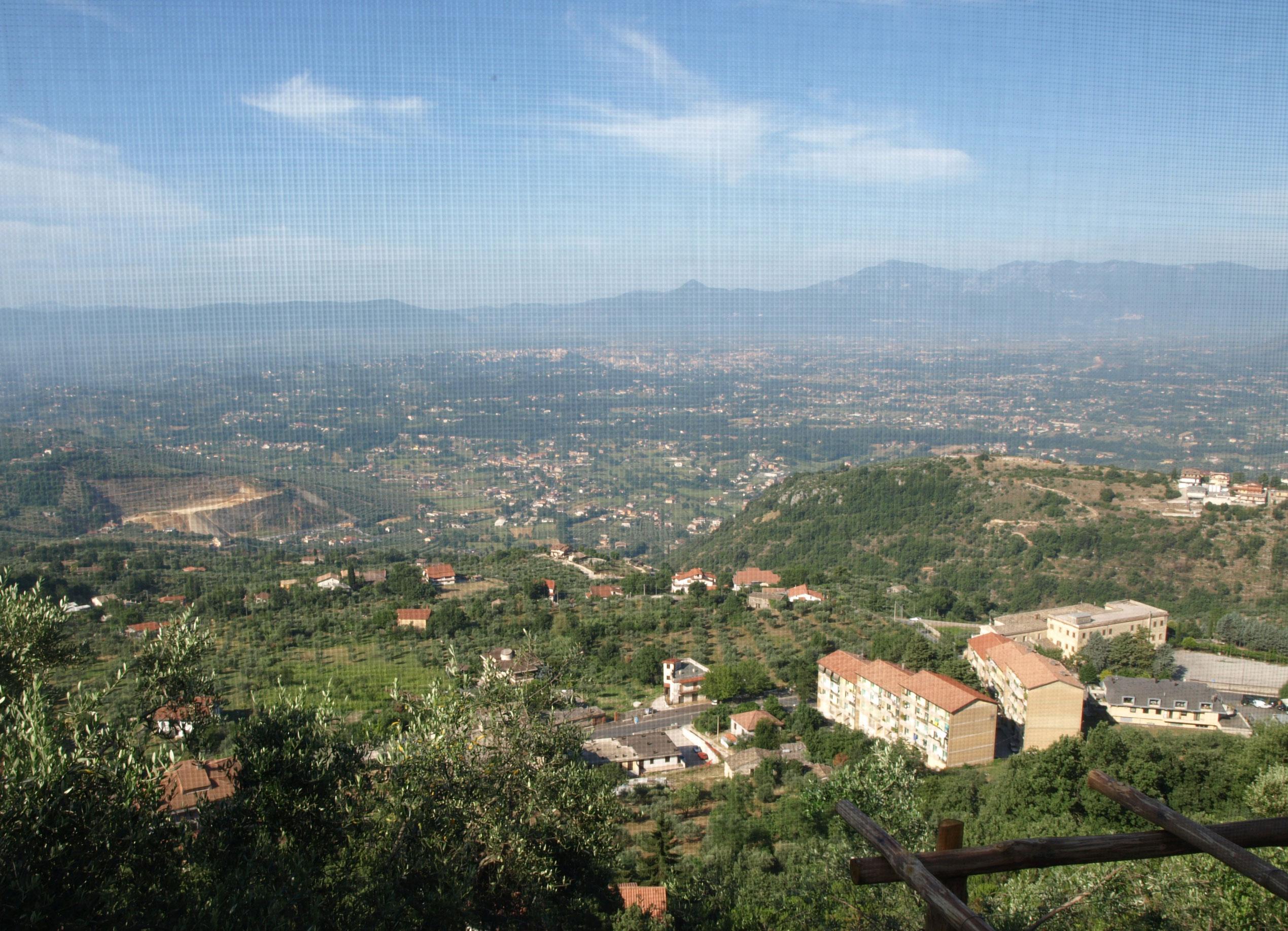Utsikten fra Casa di Veroli er helt fantastisk